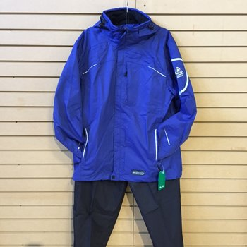 Wetskins Xtreme Series Men's Rainsuit Blue XXL