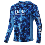 Huk Icon X KC Refraction Camo Hoodie. San Sal XXL