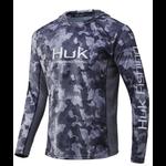 Huk Huk Icon X KC Refraction Camo Hoodie. Storm XL