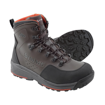Simms Simms Freestone Boots Rubber Sole, Dark Olive, 13