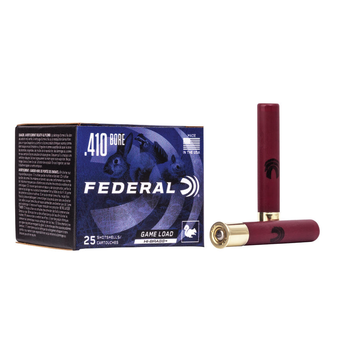 "Federal Federal Game-Shok 410ga Ammo 3"" 11/16oz #4 25rds"