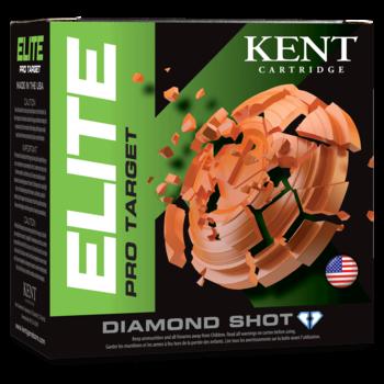 """Kent Elite Pro Target 12ga 2 3/4"""" 1 1/8 OZ 1200 FPS  Ammunition  250 Rounds"""
