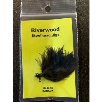 Riverwood Riverwood Steelhead Jig Mini Black