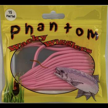 Phantom Wacky Wigglers,Flat Tail Worm,Bubblegum