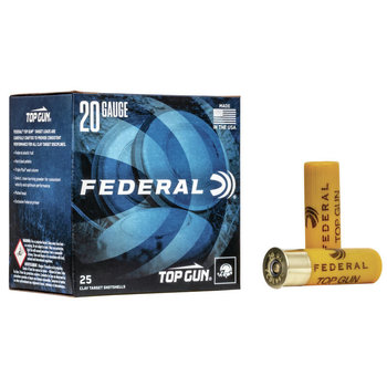 "Federal Top Gun Target 20 ga, 2.75"", #7.5, 7/8 oz, 1210 fps, 250 rnds"