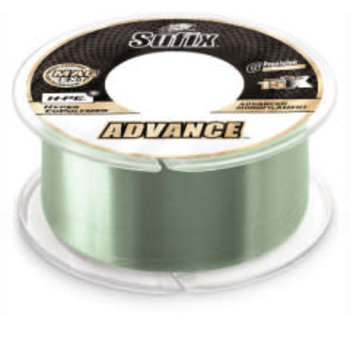 Sufix Advance Monofilament 20lb 330yds Low-Vis Green