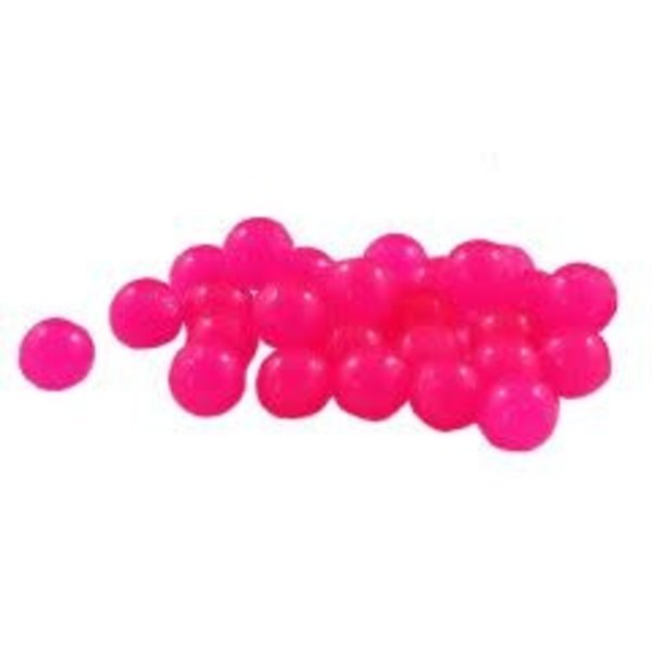 Cleardrift Tackle Solid Soft Bead 8mm Shrimp Pink 30-pk