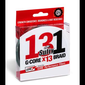 Sufix 131 G-Core 20lb Braid. 150yds Low-Vis Green