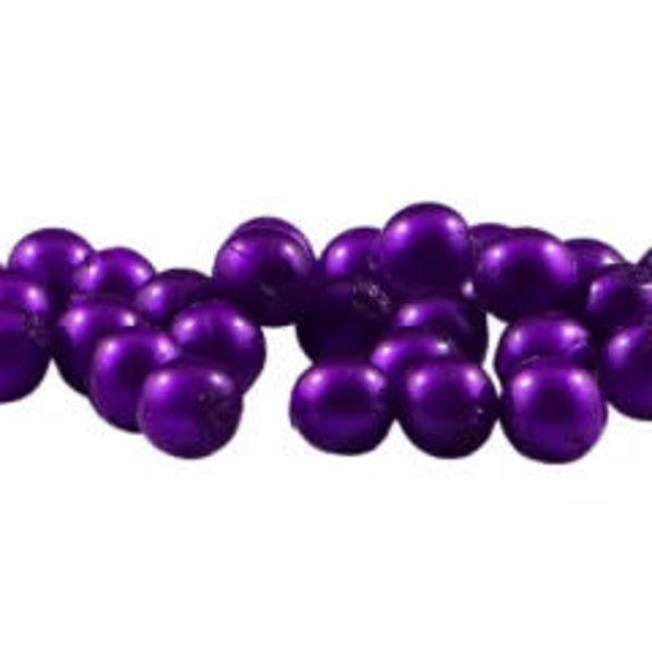 Cleardrift Tackle Soft Bead 6mm Grape Pearl 40-pk
