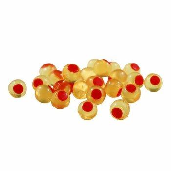 Cleardrift Tackle Glitter Bomb Natural Orange/Red Dot 6mm