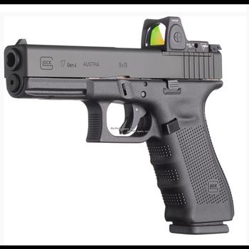 "Glock UG1750201MOS G17 Gen4 MOS Semi Auto Pistol, 9MM, 4.48"", 3-10rd Optic Ready"