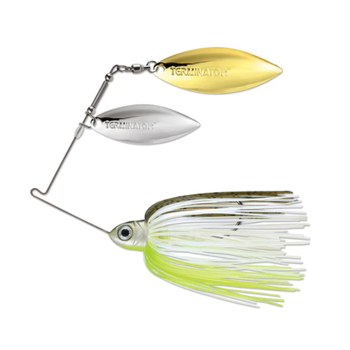 Terminator Pro Series 3/8oz Hot Olive CW Spinnerbait