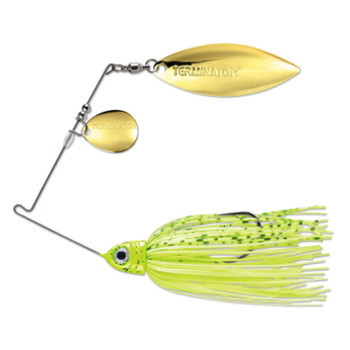 Terminator Pro Series 3/8oz Dirty Chartreuse CW Spinnerbait