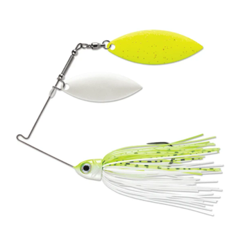 Terminator Pro Series 3/8oz Chart & White Shad WW Spinnerbait (Painted)