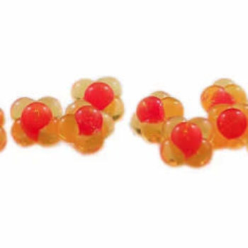 Cleardrift Tackle Cleardrift Tackle Embryo Egg Clusters Small Natural Hot Pink Dot