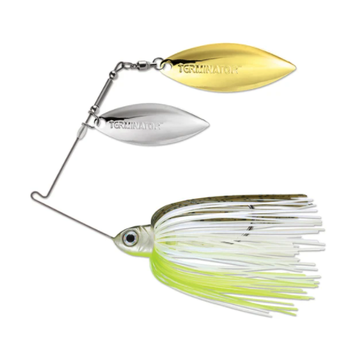 Terminator Pro Series 1/2oz Hot Olive CW Spinnerbait