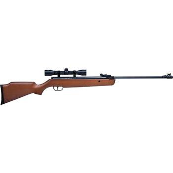 Crosman 30021 Vantage NP Nitro Piston Powered Break Barrel Air Rifle, .177 Cal, Hardwood Stock w/4x32mm Scope, 1200 fps