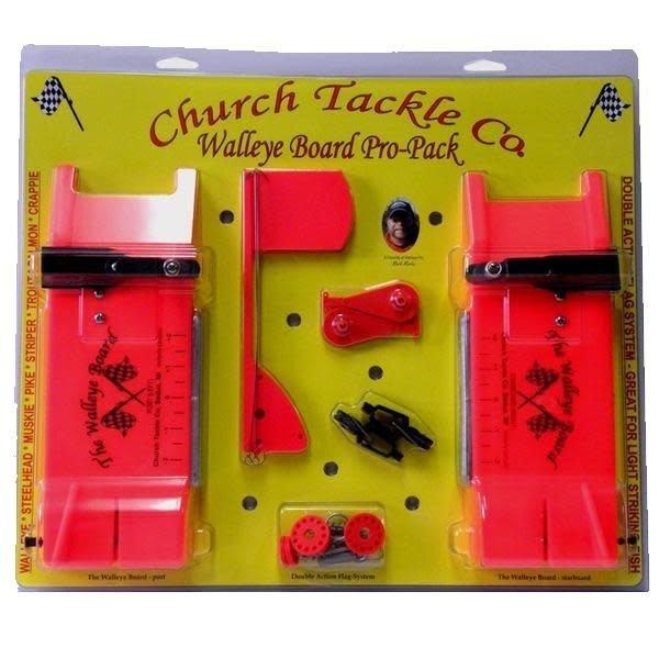 Church Tackle Walleye Board. Pro-Pack