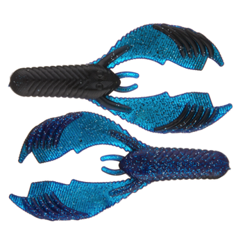 "Yum Craw Chunk 3.25"" Black Blue Shadow 8-pk"