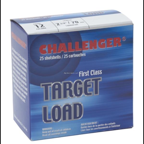 Challenger Ammo 40018 Light Load 4001 Shotshell 12 GA, 2-3/4 in, No. 8, 1-1/8 oz, 1150 fps, 25 Rnd per Case