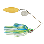 Booyah Covert Colorado Willow 1/2oz White Chart Blue. Gold Top Willow