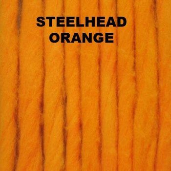 The Bug Shop 15' Glo Bug's Yarn. Steelhead Orange