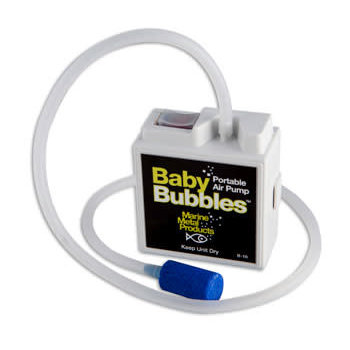 Marine Metal Products Baby Bubbles Aerator.