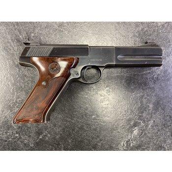 """Colt Woodsman Match Target 22 LR 4.5"""" BBL Semi Auto Pistol w/3 Mags"""