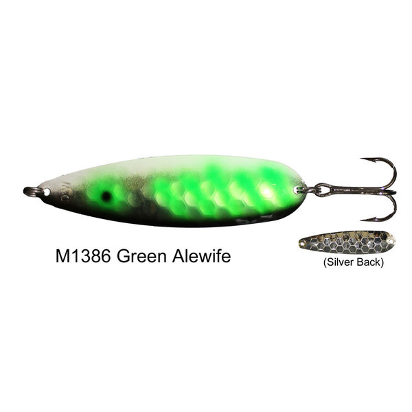 Dreamweaver Mag Spoon. Green Alewife
