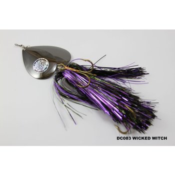 Musky Mayhem Tackle Double CowGirl. Wicked Witch