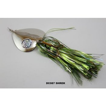 Musky Mayhem Tackle Double CowGirl. Shrek