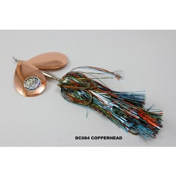 Musky Mayhem Tackle Double CowGirl. Copperhead