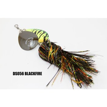 Musky Mayhem Tackle Double Showgirl Black Fire