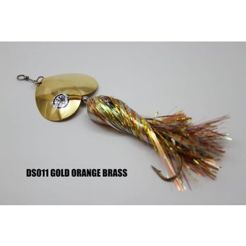 Musky Mayhem Tackle Double Showgirl Gold Org Gold