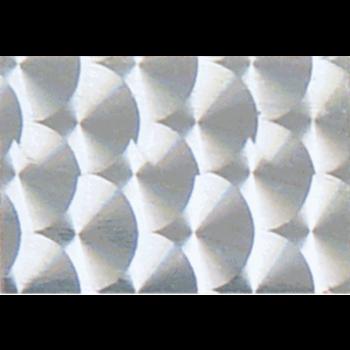 WTP Decorator Tape 2x6 3-pk. Silver Prism