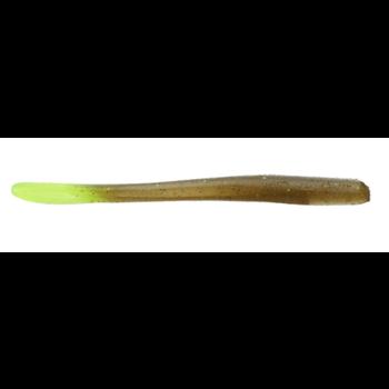 Set The Hook Crush Worm Magic Chartreuse 8008 10-pk