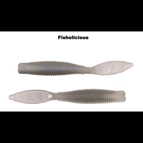 """Missile Baits Ned Bomb 3.25"""" Fisholicious 10-pk"""
