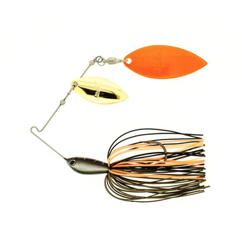 Molix Water Slash Double Willow Spinnerbait Mud Vein 1/2oz