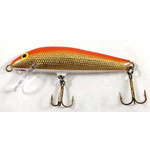 "A.C. Shiner Plug. 3"" Orange Gold"