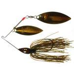 Nichols Pulsator Metal Flake 1/2oz Suwannee River Green. Double Willow