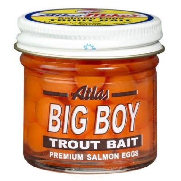 Atlas Big Boy Eggs. 1.60oz Orange
