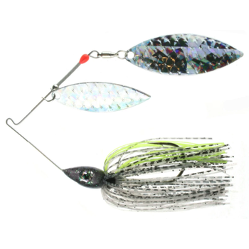Nichols Pulsator Shattered Glass 1/2oz Bombshell Shad. Double Willow