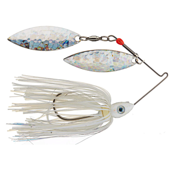 Nichols Pulsator Shattered Glass 1/2oz Blue Shad. Double Willow