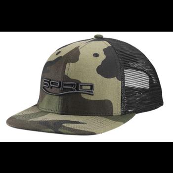 Spro Flat Bill Camo Hat