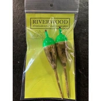Riverwood Green Camo Floats  3.7g