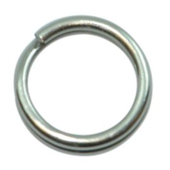 Spro Stainless Split Rings. Size 3 16lb 10-pk