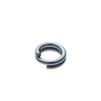 Owner Ultra Split Ring #6 Stainless Steel 150lb-250lb 8-pk