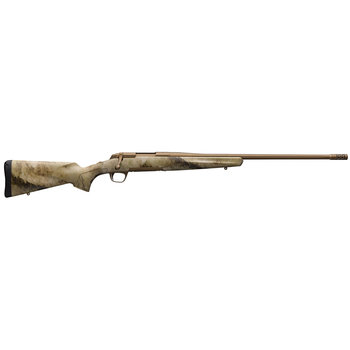 """Browning 035475218 X-Bolt Hells Canyon Speed Suppressor Ready Bolt 308 Winchester 22"""" 4+1 Synthetic A-TACS AU Stk Burnt Bronze Cerakote"""