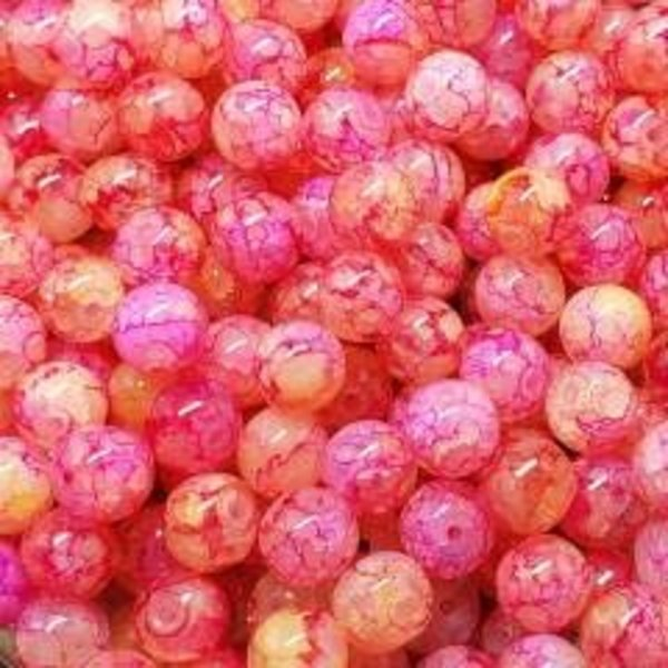 Creek Candy Beads 6mm Sour Skein Ice #257