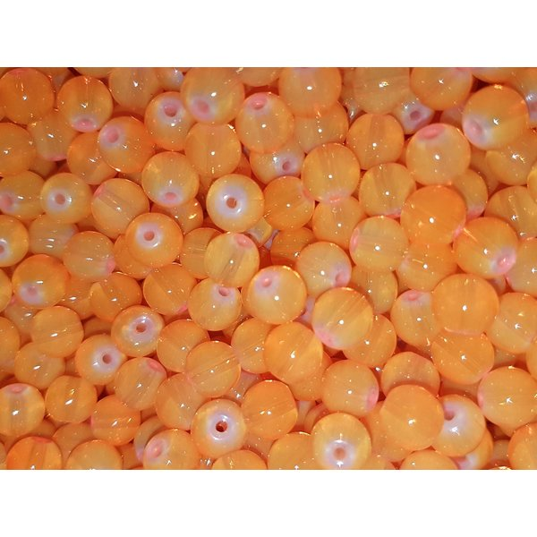 Creek Candy Beads 6mm Atomic Peach #254
